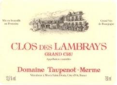 """L'autre producteur du Grand Cru """"Clos des Lambrays"""""""