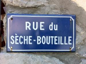 La bien nommée rue de Valloire...
